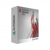 Autodesk AutoCAD 2017 Commercial New Single-user ELD 3-Year Subscription(Part # 001I1-WW4604-T777)