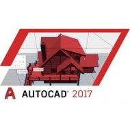 Autodesk AutoCAD 2017 Commercial New Single-user ELD 1-Year Subscription(Part # 001I1-WW4127-T897)