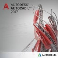 Autodesk AutoCAD LT 2017 Commercial New Single-user ELD 1-Year Subscription(Part # 057I1-WW8695-T548)