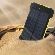 Solar Power Bank Dual USB Power Bank
