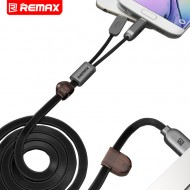 Remax Dual Charging Cable For IOS & Android