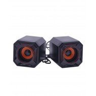 Beacon Mini Cubic USB Speaker - Black