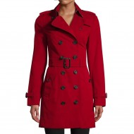 Stylish Ladies Winter Coat red