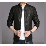 Stylish Soft Artificial Leather Jacket for Men(bd)