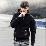 Black Exclusive Hoodie Jacket for Men(bd)