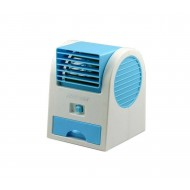 Portable Cooler - White & Blue