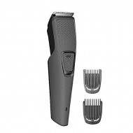 BT-1210 Rechargeable Electric Beard Trimmer – Gray