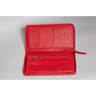 RED COLOR PASSPORT HOLDER-PHDL30(RE)