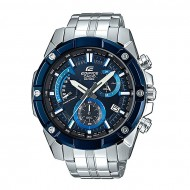 Casio EFR-559DB-2AV Silver Stainless Steel Chronograph Watch for Men