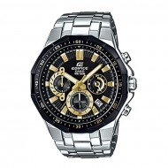 Casio EFR-554D-1A9V Silver Stainless Steel Chronograph Watch for Men