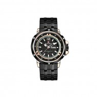 Naviforce NF9073RGBRG Stainless Steel Analog Watch for Men - Black