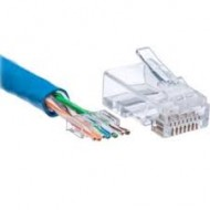 AMP Cat 6 RJ45 Cable Connector (o)