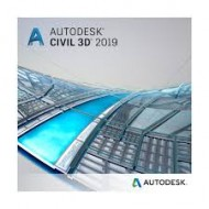 Autodesk AutoCAD Civil 3D 2019 Commercial New Single-user ELD 1-Year Subscription (r)