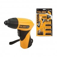 Cordless Screwdriver Set - Yellow and Black (K)
