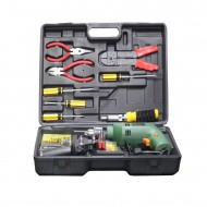 General Household Hand Tool Kit - Black and Yellow (K)