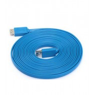 3m USB Flat High Speed Extension Cable By Beacon