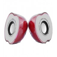 Apple Shaped USB Powered Mini Speaker By Beacon