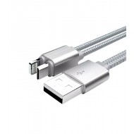 Ldnio 2 In 1 Combination USB Charging Cable LC86 Silver