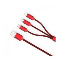 Ldnio LC85 3 In 1 USB Charge Cable Gold