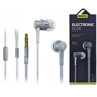 REMAX Stereo Earphone RM 535 Silver