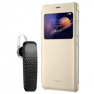 Honor V8 Cover & Bluetooth Earphone Combo By AKC