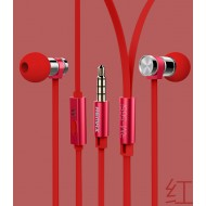 Remax Earphone RM 565i Red