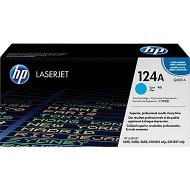 HP 124A Cyan Original LaserJet Toner Cartridge (Q6001A)r