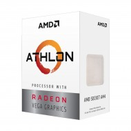 AMD Athlon 200GE 3.2GHz 2 Core 5MB+ Cache AM4 Socket Processor with Vega 3 Graphics(r)