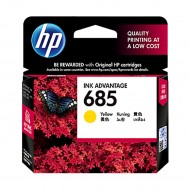 HP 685 Yellow Original Ink Advantage Cartridge (CZ124AA) r