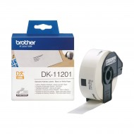 Brother Genuine DK-11201 Black on White 29mm x 90mm Label Roll (R)