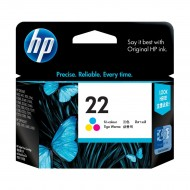 HP 22 Tri-color Original Ink Cartridge (C9352AA) r