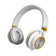 Prolink PHC1002E Frolic2 Corded Stereo White-Gold Headphone With Microphone