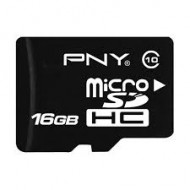 PNY 16GB MicroSDHC class-10 UHS-I Memory card With Adapter(R)