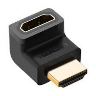 Ugreen HDMI Male to Female Down Black Adapter (20109)r