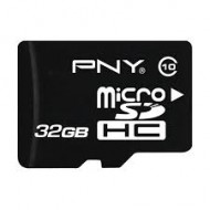 PNY 32GB MicroSDHC class-10 UHS-I Memory card With Adapter(R)