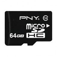 PNY 64GB MicroSDXC class-10 UHS-I Memory card With Adapter(R)