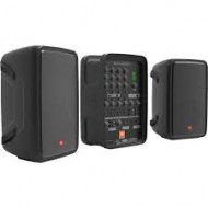 JBL EON208P Portable All-in-One 2-way PA System with 8-Channel Mixer and Bluetooth Speaker r