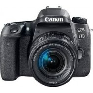 Canon EOS 77D Digital SLR Camera Body With EF-S 18-55mm STM Lens(r)