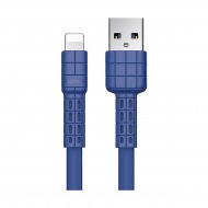 REMAX RC-116i Armor Series Lightning Blue Charging & Data Cable for iPhone(1 Meter)r