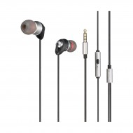 REMAX RM-585 Stereo Black In-Ear Wired Earphone r