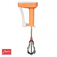 Apex No Electric Stainless Steel Hand Blender (Multicolour)