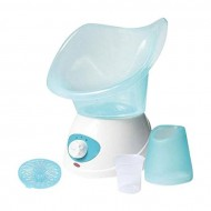 Beauty Soap Beauty Facial Steamer Machine - White and Blue