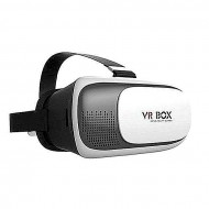 Brothers Tech VR BOX 2 Virtual Reality 3D Glasses For Smartphones - Black and White