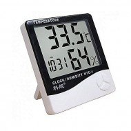 As Seen On Digital Room Temperature Meter - Black and White