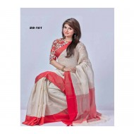 MUSLIN COTTON  SAREE