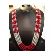 Artificial Pearl Setting Necklace