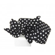 Polka dot hairband