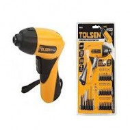 Cordless Drill With Screwdriver - Yellow and Black(S)