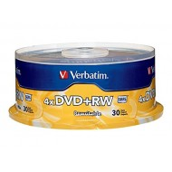 Verbatim DVD+RW 4.7GB 4X Rewritable Media Disc