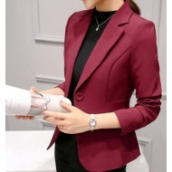 Elegnant Fashion New Spring Red Blazer for Women
